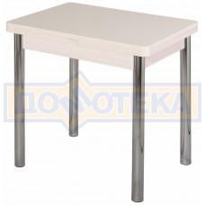 Стол кухонный Реал М-2 КМ 06 (6) МД 02 молочный дуб