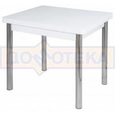 Стол кухонный Чинзано М-2 БЛ ст-БЛ 02 белый