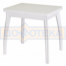 Стол кухонный Чинзано М-2 БЛ ст-БЛ 07 ВП БЛ белый