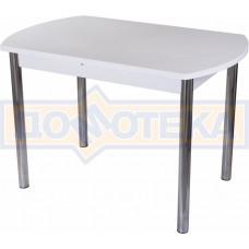 Стол с камнем - Румба ПО КМ 04 БЛ 02 ,белый