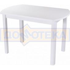 Стол с камнем - Румба ПО-1 КМ 04 БЛ 04 БЛ ,белый