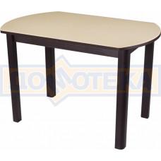 Стол с камнем - Румба ПО-1 КМ 06 ВН 04 ВН ,венге
