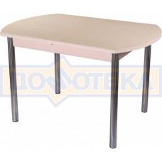 Стол с камнем - Румба ПО-1 КМ 06 МД 02 ,молочный дуб