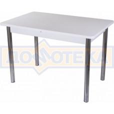 Стол с камнем - Румба ПР КМ 04 БЛ 02 ,белый