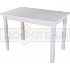 Стол с камнем - Румба ПР-1 КМ 04 БЛ 04 БЛ ,белый