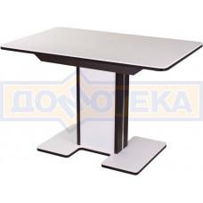 Стол с камнем - Румба ПР-1 КМ 04 ВН 05-1 ВН/БЛ КМ 04 ,венге