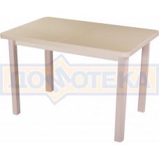 Стол с камнем - Румба ПР-1 КМ 06 МД 04 МД ,молочный дуб