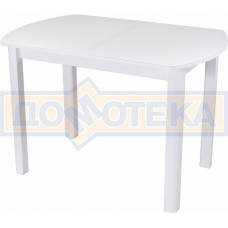 Стол со стеклом - Танго ПО БЛ ст-БЛ 04 БЛ ,белый