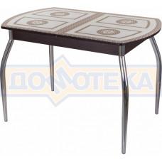 Стол со стеклом - Танго ПО ВН ст-71 01 ,венге