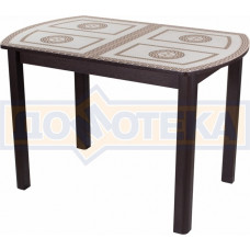 Стол со стеклом - Танго ПО ВН ст-71 04 ВН ,венге