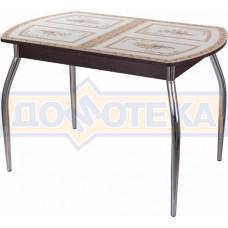 Стол со стеклом - Танго ПО ВН ст-72 01 ,венге