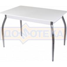 Стол со стеклом - Танго ПР БЛ ст-БЛ 01 ,белый