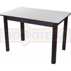 Стол со стеклом - Танго ПР ВН ст-БЛ 04 ВН ,венге