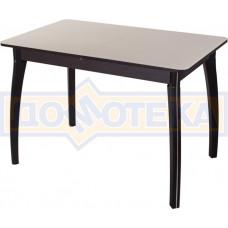 Стол со стеклом - Танго ПР ВН ст-КР 07 ВП ВН ,венге