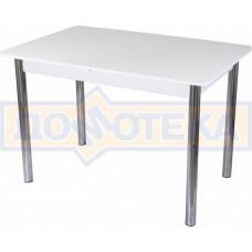 Стол со стеклом - Танго ПР-1 БЛ ст-БЛ 02 ,белый