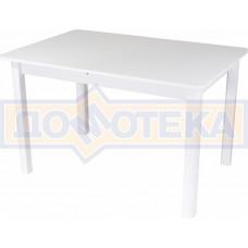 Стол со стеклом - Танго ПР-1 БЛ ст-БЛ 04 БЛ ,белый