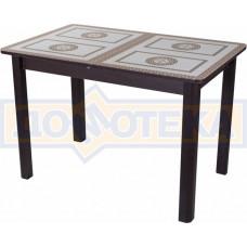 Стол со стеклом - Танго ПР-1 ВН ст-71 04 ВН ,венге