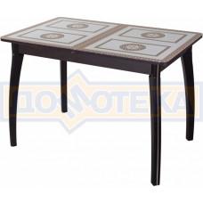 Стол со стеклом - Танго ПР-1 ВН ст-71 07 ВП ВН ,венге