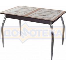 Стол со стеклом - Танго ПР-1 ВН ст-72 01 ,венге