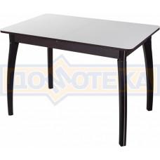 Стол со стеклом - Танго ПР-1 ВН ст-БЛ 07 ВП ВН ,венге