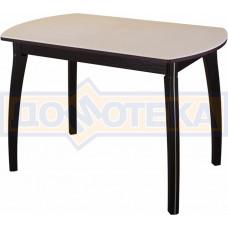 Стол с камнем - Румба ПО-1 КМ 06 ВН 07 ВП ВН ,венге