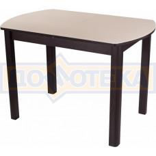 Стол со стеклом - Танго ПО ВН ст-КР 04 ВН ,венге