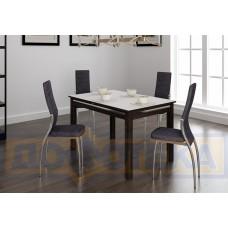 Обеденная группа стол Самба КМ + стулья Милано А-4/А-4 (4шт.)