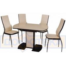 Обеденная группа Стол Танго + стулья Милано Д-2/В4 (4шт.)