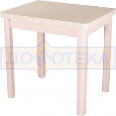 Стол кухонный Чинзано М-2 МД ст-КР 04 молочный дуб