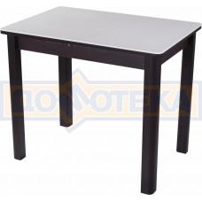Стол с камнем Румба ПР-М 04 ВН 04 ВН, венге/камень белого цвета