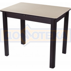 Стол с камнем Румба ПР-М 06 ВН 04 ВН, венге/камень песочного цвета
