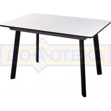 Стол со стеклом - Танго ПР-1 ВН ст-БЛ 93 ЧР