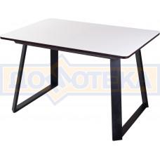 Стол со стеклом - Танго ПР-1 ВН ст-БЛ 91-1 ЧР
