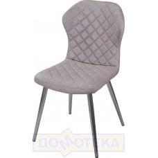 Стул Анкона Z-6 серый ХР61 ножки хром