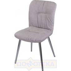 Стул Модена Z-6 серый ХР61 ножки хром