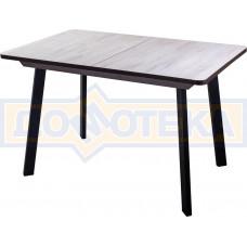 Стол Джаз ПР-1 ОБ/ВН 93 ЧР (Орех беленый, ножки металл)