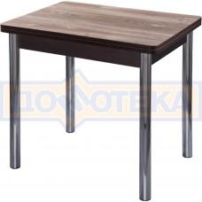 Кухонный стол из ЛДСП Дрезден М-2 ОТ/ВН 02 (Орех темный)