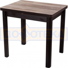 Кухонный стол из ЛДСП Дрезден М-2 ОТ/ВН 04 (Орех темный)