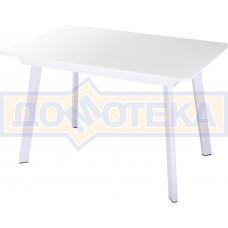 Стол со стеклом - Танго ПР-1 БЛ ст-БЛ 93 БЛ